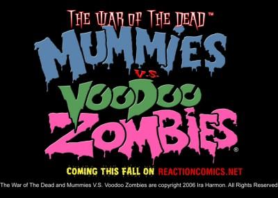 Mummies vs. Voodoo Zombies