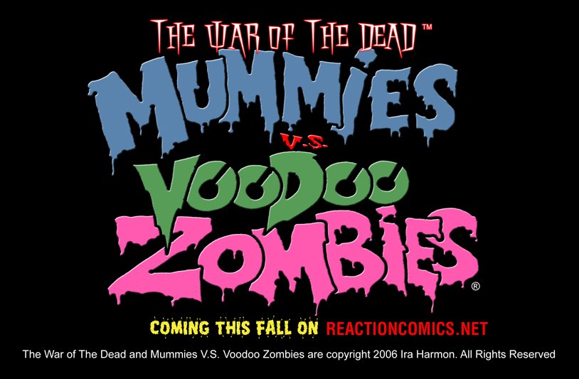 Mummies vs. Voodoo Zombies